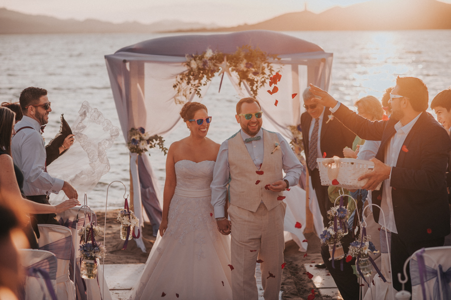 Boda sunset La Manga