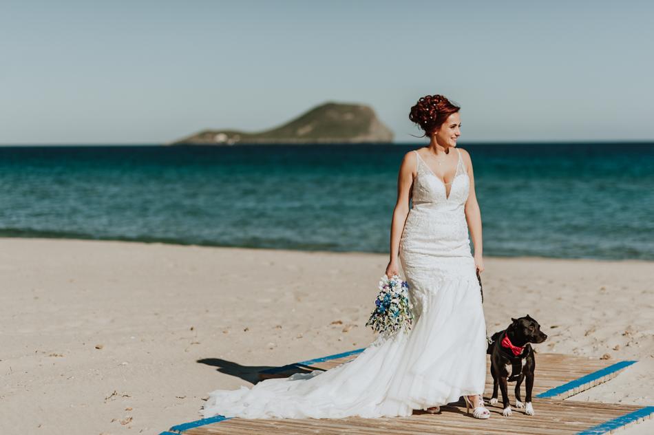 Mario y Lara boda en Noviembre en La Manga del Mar Menor
