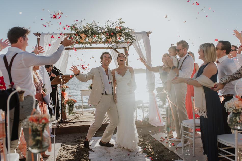 Wedding Lina & Jeffrey - Restaurante Área Sunset en La Manga del Mar Menor